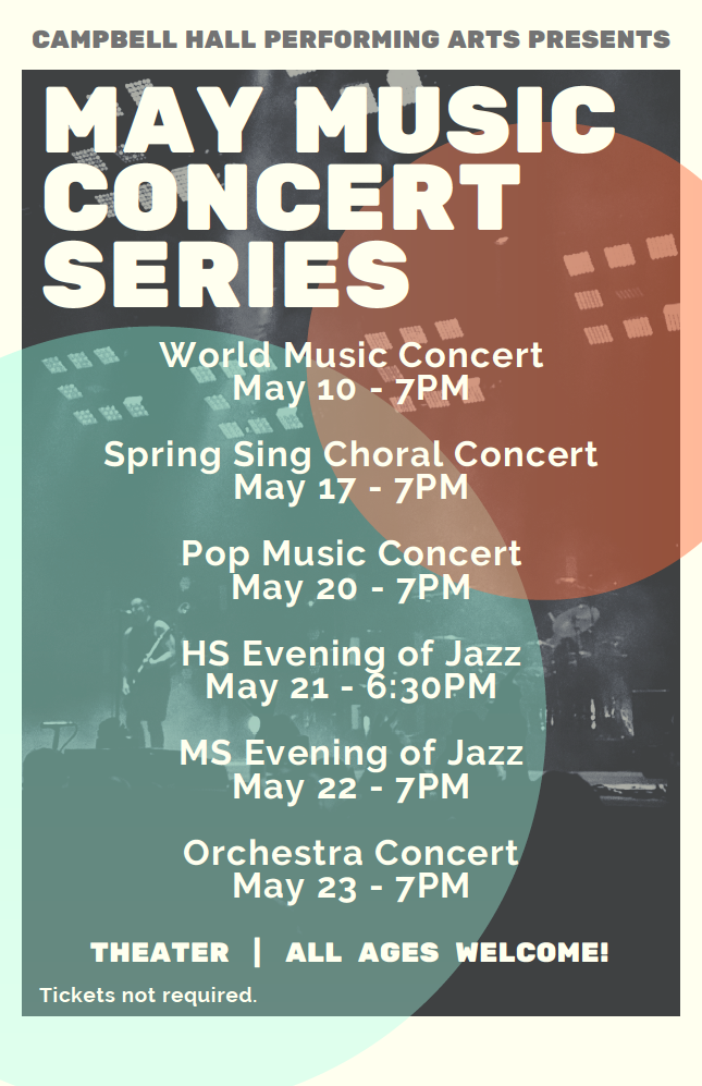 May Music Concert Series